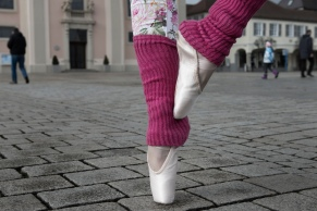 Ballett shoe that travels