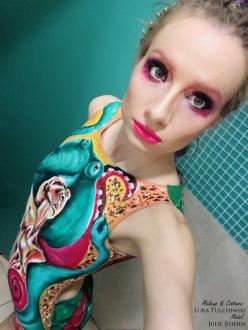 makeup & body by Lora Tulchinski